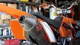 10. Akrapovic on KTM 250 XCF-W / EXC-F exhaust comparison