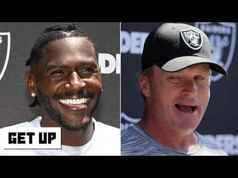 Video: Jon Gruden supports Antonio Brown's helmet grievance | Get Up