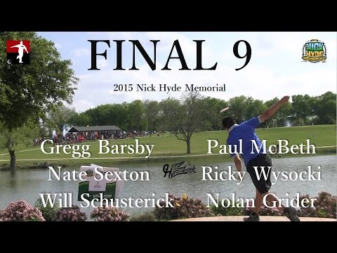 The Disc Golf Guy – Vlog #278 – Final 9 McBeth Barsby Wysocki Sexton Schusterick Grider