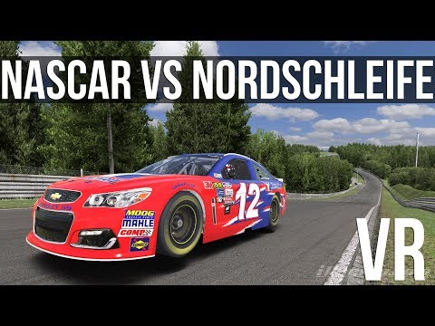 iRacing - How Fast Can A NASCAR Cup Car Lap The Nordschleife?