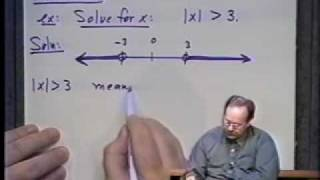 College Algebra - Lecture 22 - Inequalities In One Variable