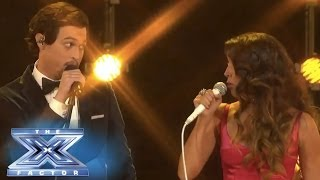 "Alex&Sierra Get Into ""Trouble"" - THE X FACTOR USA 2013"