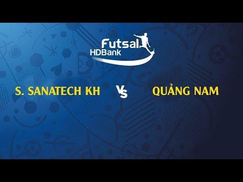 Trực tiếp | S. Sanatech KH - Quảng Nam | VCK VĐQG FUTSAL HD BANK 2019 - Thời lượng: 1 giờ và 34 phút.