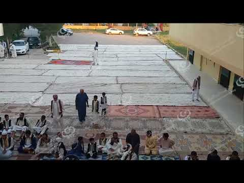 أهالي صبراتة يؤدون صلاة العيد في الساحات العامة بالمدينة