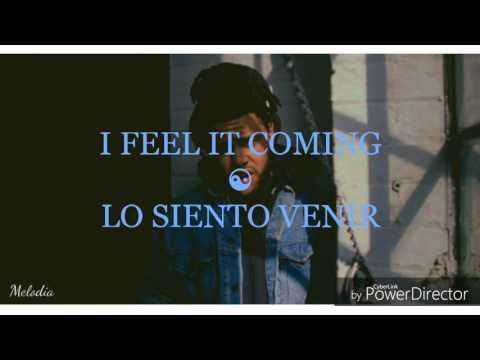 Video I feel it coming - The Weekend feat. Daft Punk (español e inglés) download in MP3, 3GP, MP4, WEBM, AVI, FLV January 2017