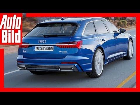Audi A6 Avant (2018) Review / Details / Erklärung