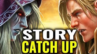 Battle For Azeroth Story Catch-up / Recap - World of Warcraft