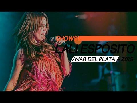 Lali Espósito video Mar del Plata 2015 - Show Completo