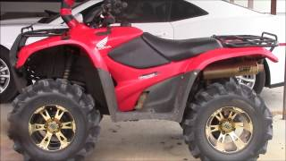 7. Highlifter 2 inch lift kit for Honda Rancher 420 Review/Look