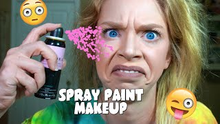 SPRAY PAINT MAKEUP! by GRAV3YARDGIRL