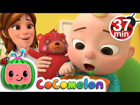 Yes Yes Vegetables Song | +More Nursery Rhymes - Cocomelon (ABCkidTV) - Thời lượng: 37:44.