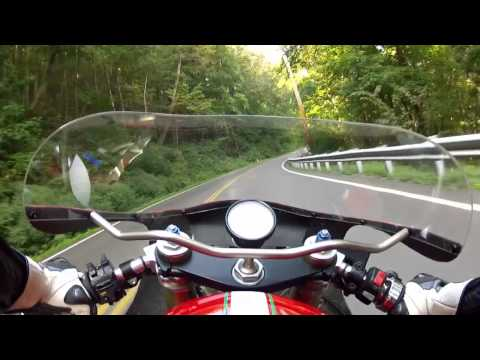 v twin sound - A mountain ride on a Ducati 750 bevel drive special. The audio starts just after the slide show. **For HD 720p quality, click the gear/sprocket icon on the p...