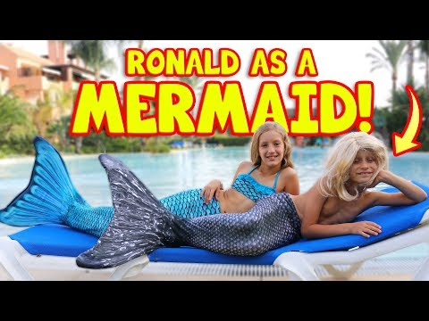 RONALD BECOMES A MERMAID!!!!!!