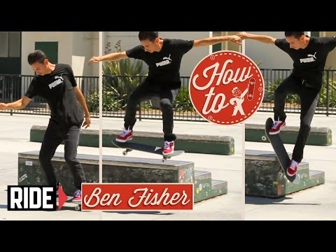 How-To Skateboarding: Switch Wallies with Ben Fisher
