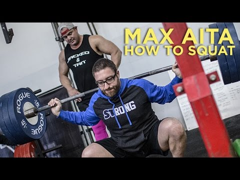 How to Squat Max Aita Style with Mark Bell (видео)