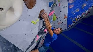 The Beast Is Back This Bouldering Session! by Eric Karlsson Bouldering