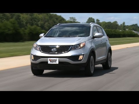 Kia Sportage SX review from Consumer Reports
