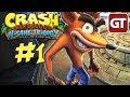 Crash Bandicoot N. Sane Trilogy Gameplay German - Let's Play Crash HD Deutsch