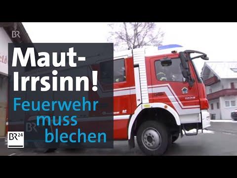 Ärger für Feuerwehr wegen Österreich-Maut