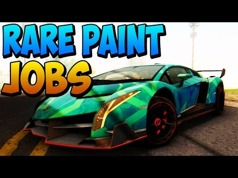GTA 5 Rare Paint Jobs Online – Salmon Pink, Clay Green, Wine Red – GTA 5 Secret Paint Jobs