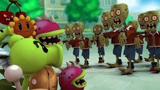 Minecraft | Plants vs. Zombies Mod in Minecraft! (Zombies Mod, PVZ Mod, Plants vs Zombies)