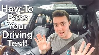How To Pass Your Drivers Test - The Secrets (2)!