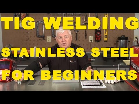 🔥 TIG Welding Stainless Steel for Beginners | TIG Time