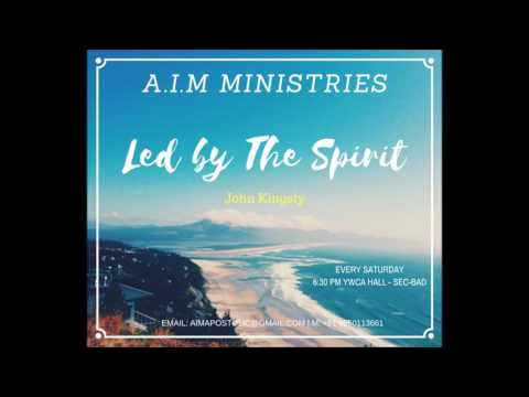 Led by The Spirit - John Kingsly (видео)