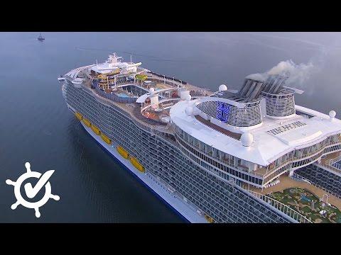 Harmony of the Seas: Live-Rundgang auf dem größten Kr ...