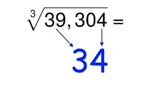 How To Calculate Cube Roots In Your Head