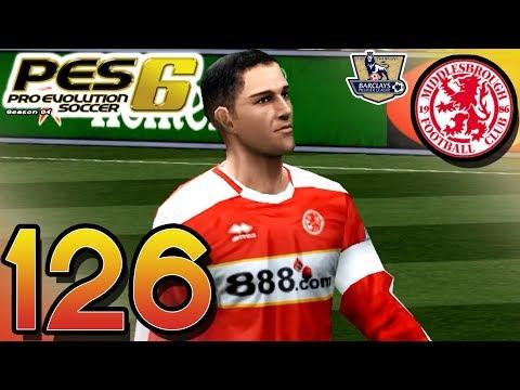 PES 6 Master League - vs Middlesbrough (A) - Part 126