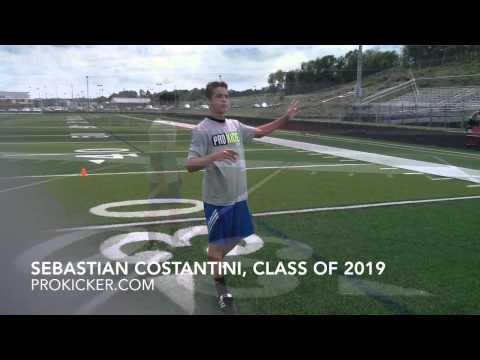 Sebastian Costantini, Punter, Class of 2019