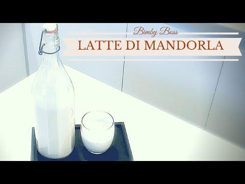 video ricetta: bimby - latte di mandorla.