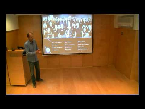 Yariv lecturing at IBM Haifa part 1