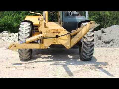 Sold! 2005 Gehl DL10H55 10K 55' 4x4 Telescopic Reach Forklift bidadoo.com