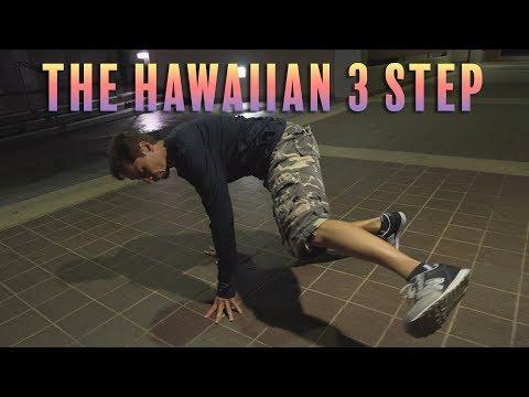 How To Do The Hawaiian 3 Step |  Skill Roy (ABC Breakers) | Beginning Breaking Tutorial