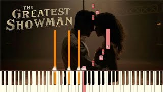 "Video The Greatest Showman - ""Rewrite The Stars"" [Piano Tutorial] (Synthesia) MP3, 3GP, MP4, WEBM, AVI, FLV Januari 2018"