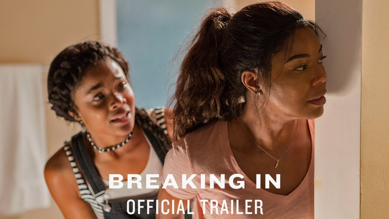 They Broke into the Wrong House. Watch Gabrielle Union Protect Her Kids in 'Breaking In' (Trailer) against Billy Burke
