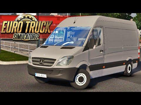 euro - Viagem de Mercedes Benz Sprinter - Euro Truck 2 ➨ Vídeo Novo: Montana Rebaixada - http://youtu.be/3H1z6tnUKbU Mais de Euro Truck 2 - Serra Perigosa - http://youtu.be/Jdq6-fHOnAQ - Cegonha...