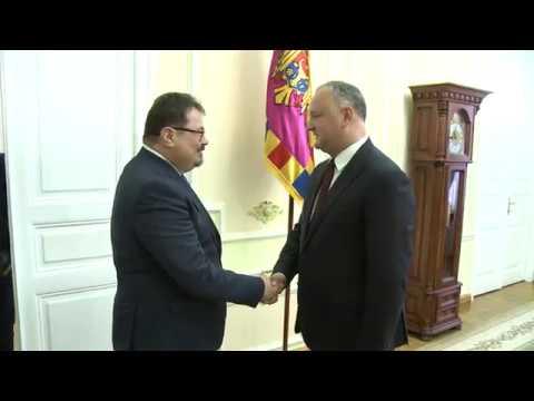 Președintele Republicii Moldova s-a întîlnit cu Şeful Delegaţiei Uniunii Europene în Republica Moldova