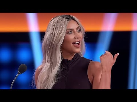 Kim Kardashian Shocked By Khloe Kardashian Diss On Family Feud | Hollywoodlife