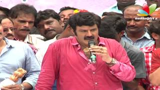 Balakrishna's Full speech at Boyapati Srinu movie opening | Simha