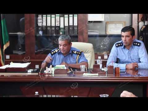 مدير جهاز الحرس البلدي فرع طرابلس يجتمع بأصحاب مصانع الدقيق