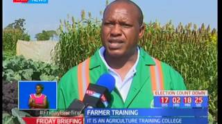 Farmers set to attend training in Wambugu farm in NyeriSUBSCRIBE to our YouTube channel for more great videos: https://www.youtube.com/Follow us on Twitter: https://twitter.com/KTNNews  Like us on Facebook: https://www.facebook.com/KTNNewsKenya For more great content go to http://www.standardmedia.co.ke/ktnnews and download our apps:http://std.co.ke/apps/#android KTN News is a leading 24-hour TV channel in Eastern Africa with its headquarters located along Mombasa Road, at Standard Group Centre. This is the most authoritative news channel in Kenya and beyond.