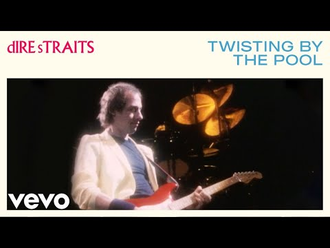 Tekst piosenki Dire Straits - Twisting By The Pool po polsku