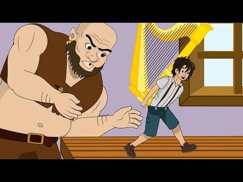 Jack dan Pohon Kacang cerita anak anak animasi kartun