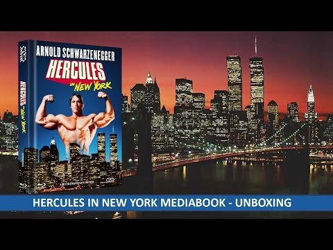 HERCULES IN NEW YORK MEDIABOOK (Blu-Ray - DVD) UNBOXING