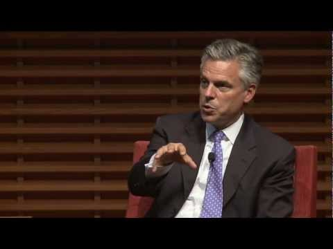 jon huntsman - Jon Huntsman, the former U.S. ambassador to China, discusses U.S.-Chinese collaboration. He spoke at the third annual China 2.0 conference, hosted by the Sta...