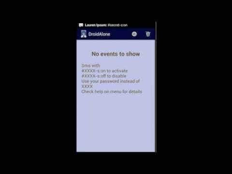 Video of DroidAlone - Missed Calls