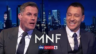 Gerrard, Scholes or Lampard - Who was the greatest? | John Terry & Jamie Carragher | MNF Q&A